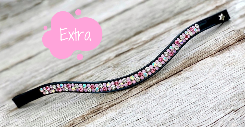 Browband Extra by Frontrow Design - double row